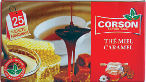 Corson Honey Caramel 25 Teebeutel 50g
